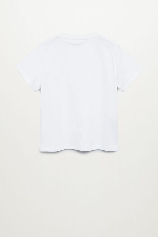 Mango Kids - Dětské tričko BRAD bílá