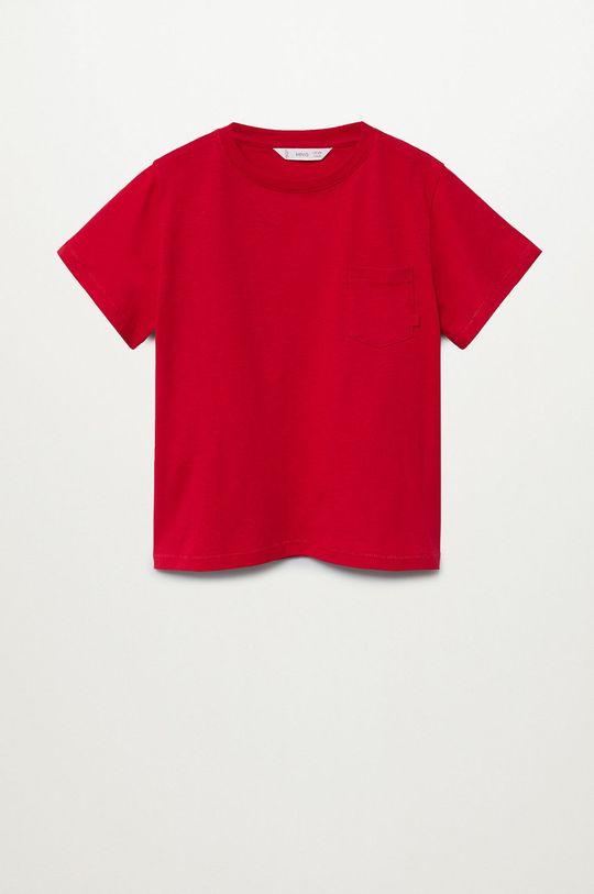 червоний Mango Kids - Дитяча футболка BRAD Для хлопчиків
