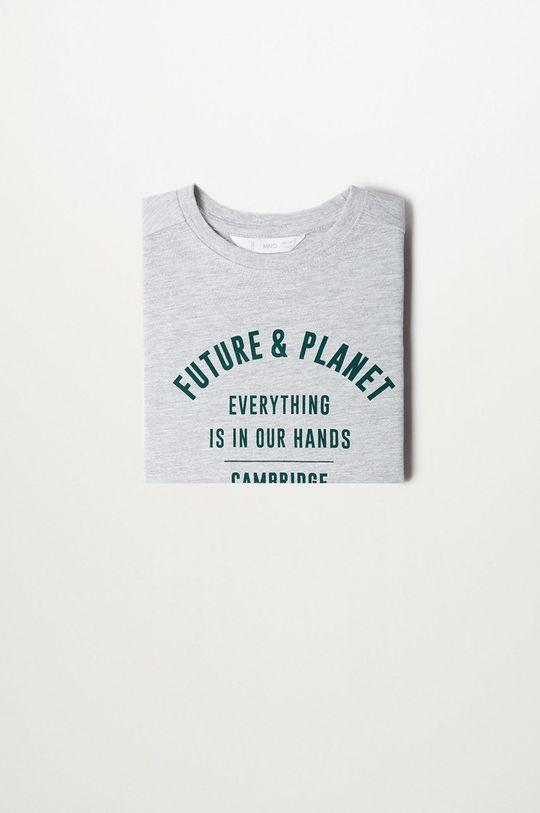 Mango Kids - T-shirt dziecięcy PLANET 10 % Poliester, 90 % Bawełna organiczna