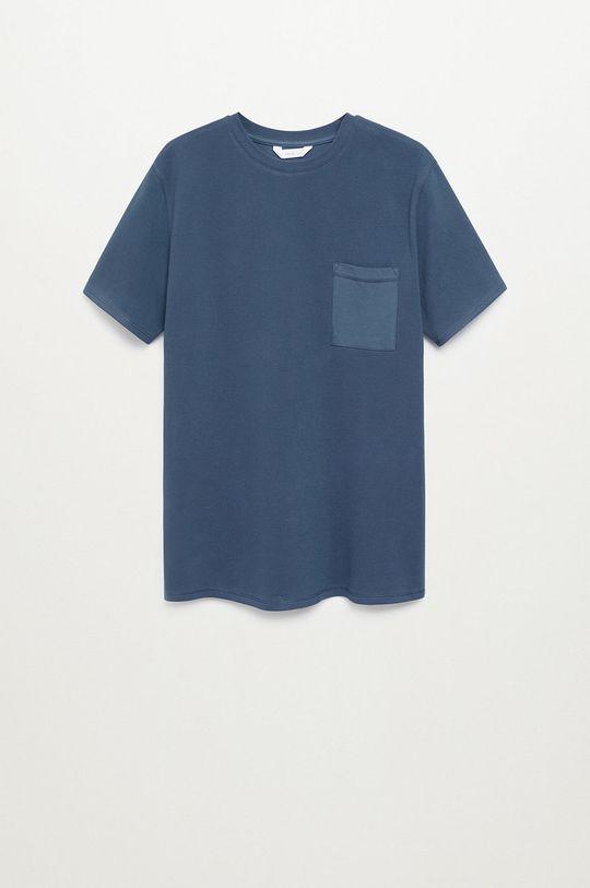 granatowy Mango Kids - T-shirt dziecięcy JAMES Chłopięcy