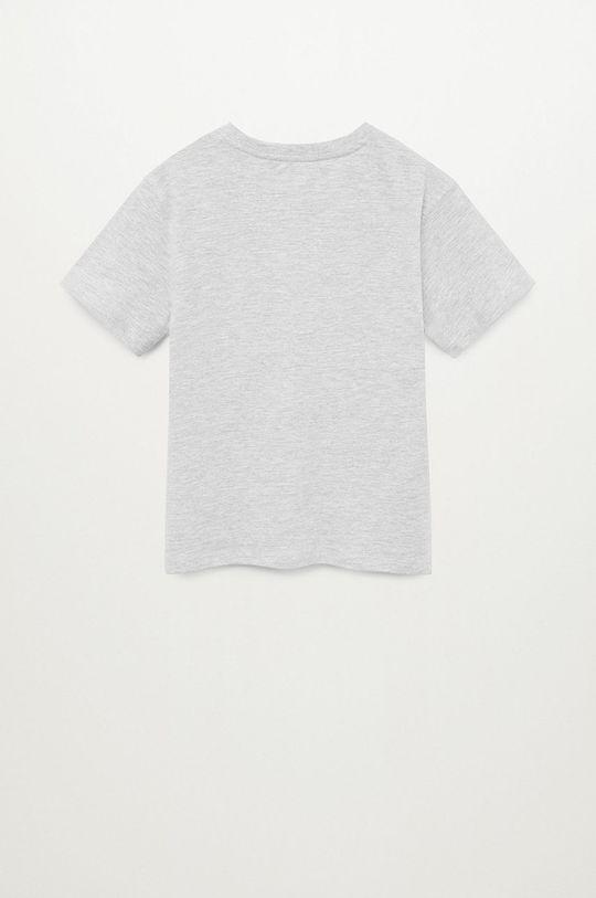 Mango Kids - Detské tričko ROCK  10% Polyester, 90% Organická bavlna