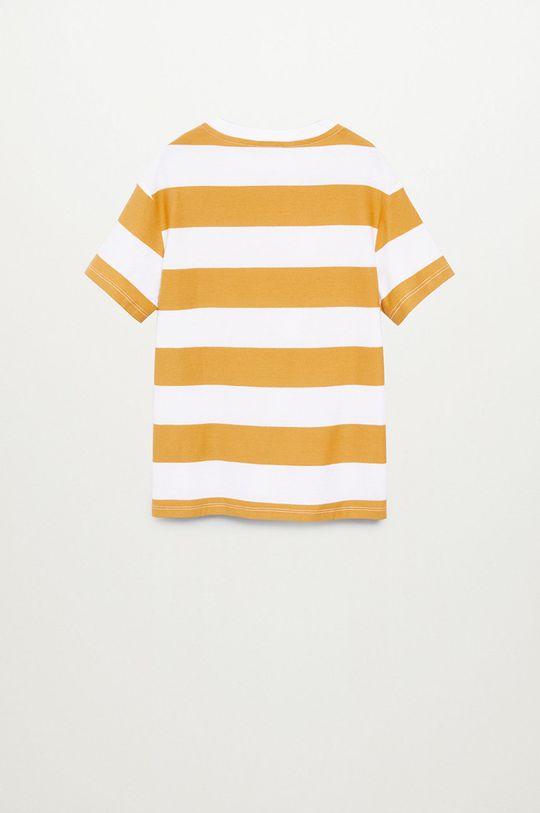 Mango Kids - Tricou copii KODAK8  100% Bumbac organic