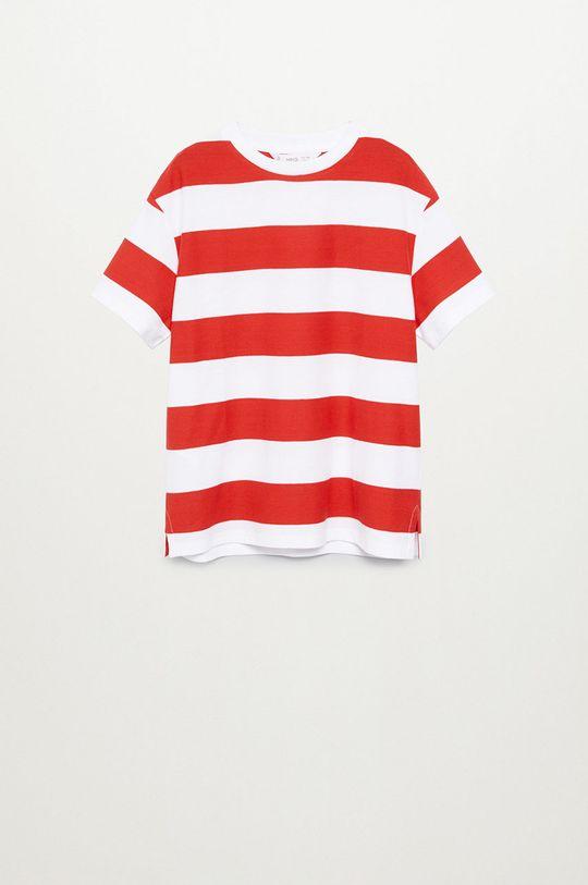 červená Mango Kids - Dětské tričko KODAK8 Chlapecký