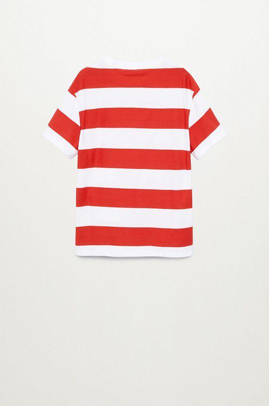 Mango Kids - Dětské tričko KODAK8 červená