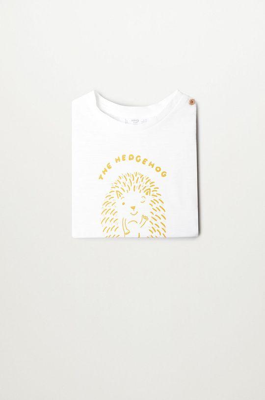 Mango Kids - Detské tričko s dlhým rukávom NICO  100% Organická bavlna