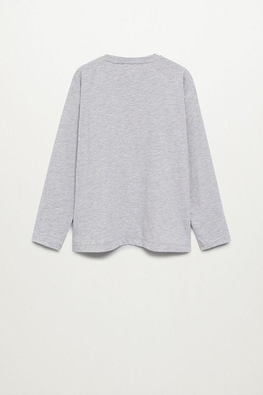 Mango Kids - Detské tričko s dlhým rukávom DC  30% Bavlna, 70% Polyester