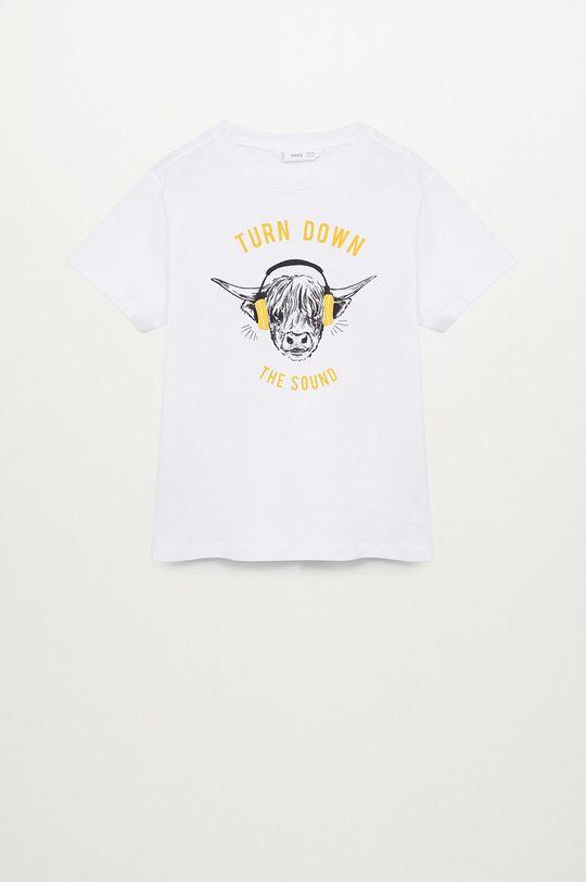 biela Mango Kids - Detské tričko OX-H Chlapčenský