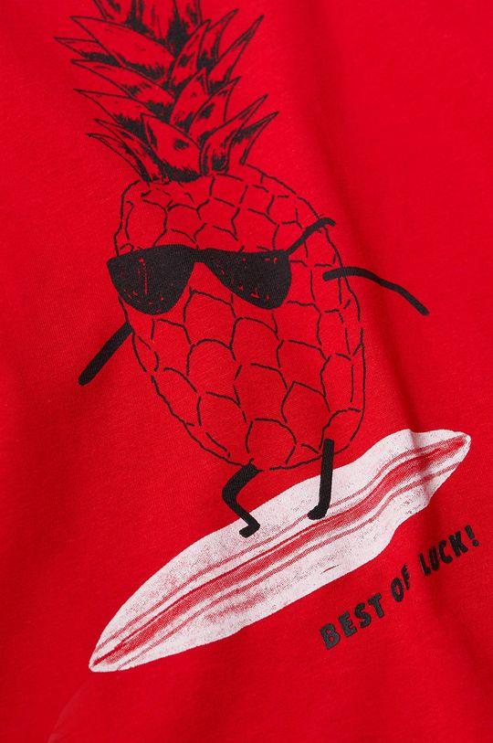 Mango Kids - Detské tričko PINA-H červená