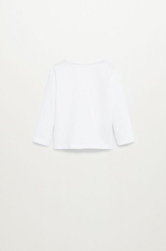 biela Mango Kids - Detské tričko s dlhým rukávom MARCOS8