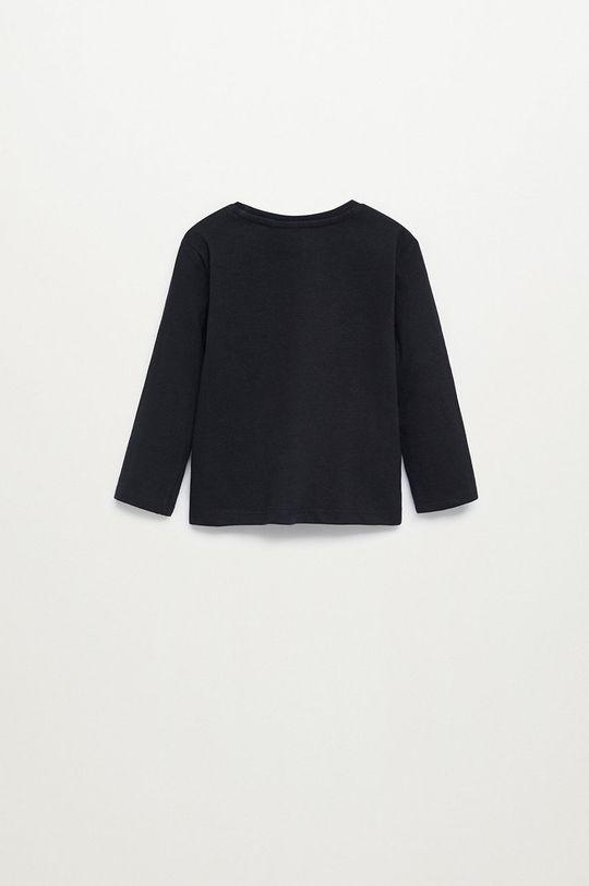 čierna Mango Kids - Detské tričko s dlhým rukávom MARCOS8