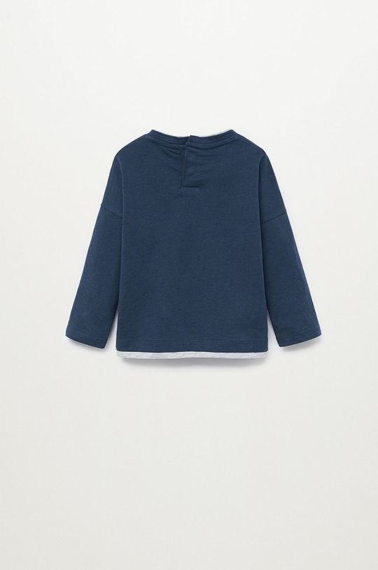 bleumarin Mango Kids - Longsleeve copii SMART