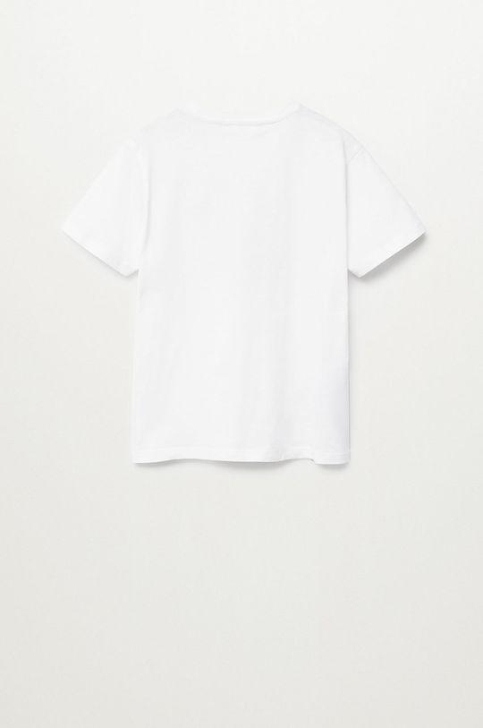 Mango Kids - T-shirt dziecięcy CITIES8 100 % Bawełna organiczna