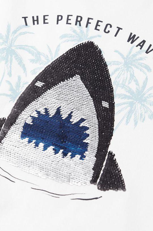 Mango Kids - T-shirt dziecięcy Sequin 110-152 cm 100 % Bawełna organiczna