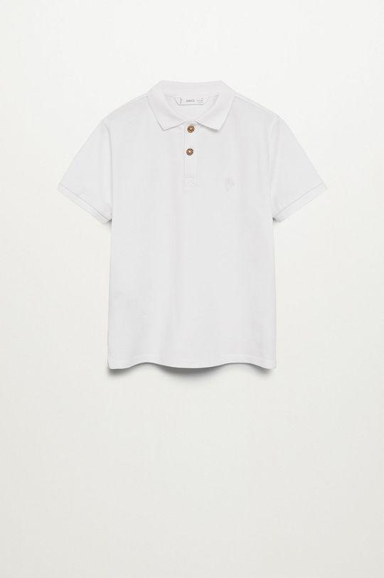 biela Mango Kids - Detské polo tričko Polo 110-164 cm Chlapčenský