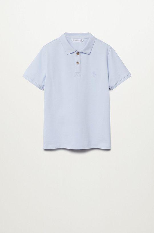 bledomodrá Mango Kids - Detské polo tričko Polo 110-164 cm Chlapčenský