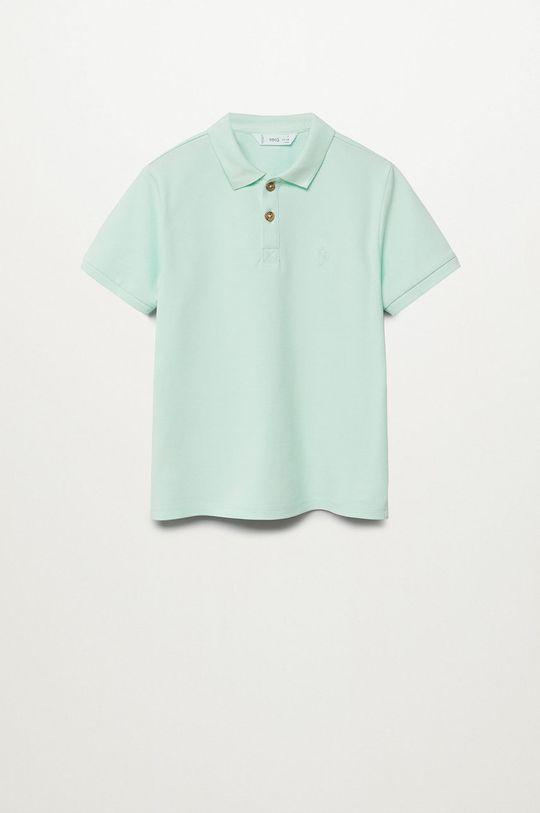 zelená Mango Kids - Detské polo tričko Polo 110-164 cm Chlapčenský