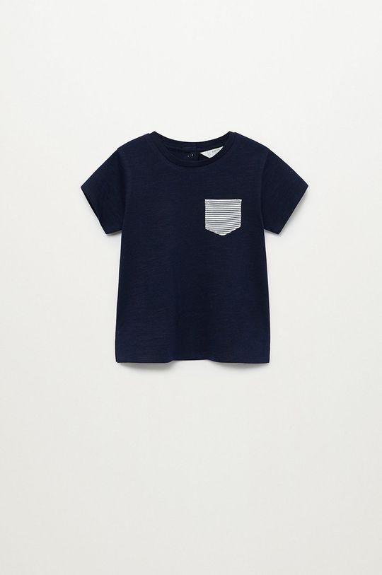 námořnická modř Mango Kids - Dětské tričko Basic8 80-104 cm Chlapecký