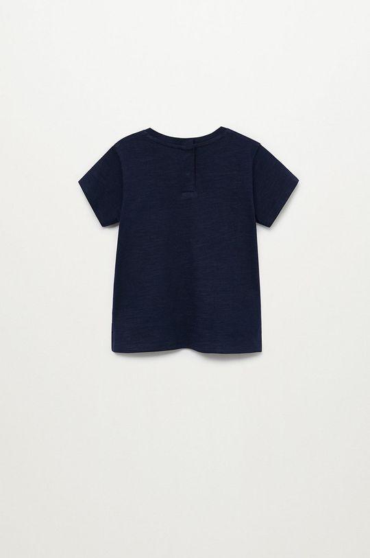 námořnická modř Mango Kids - Dětské tričko Basic8 80-104 cm