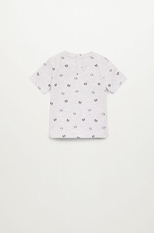 Mango Kids - Dětské tričko PIERO světle šedá