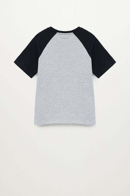 Mango Kids - Dětské tričko SKILLS  5% Viskóza, 95% Organická bavlna