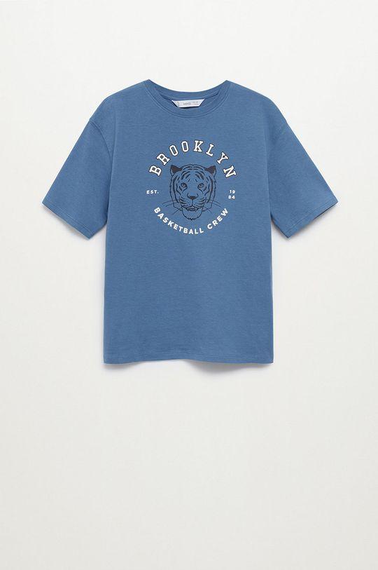niebieski Mango Kids - T-shirt dziecięcy PLAYERS Chłopięcy