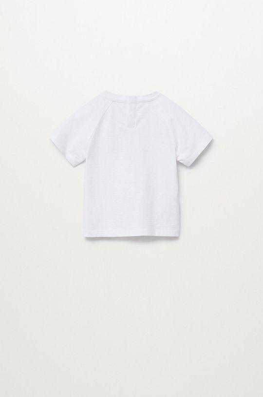 Mango Kids - T-shirt dziecięcy Leto 80-104 cm biały