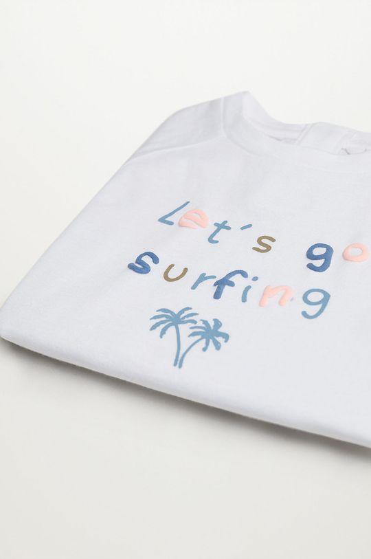 Mango Kids - T-shirt dziecięcy Leto 80-104 cm 100 % Bawełna