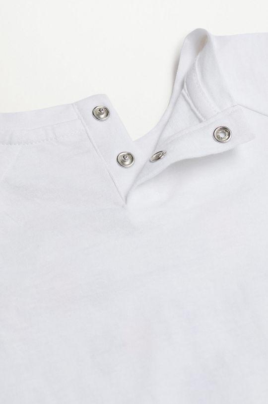 biały Mango Kids - T-shirt dziecięcy Leto 80-104 cm