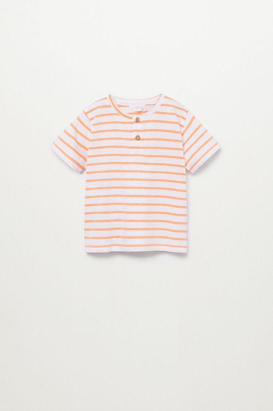 jasny pomarańczowy Mango Kids - T-shirt dziecięcy Pani8 80-104 cm Chłopięcy