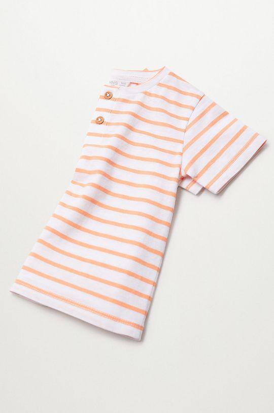 jasny pomarańczowy Mango Kids - T-shirt dziecięcy Pani8 80-104 cm