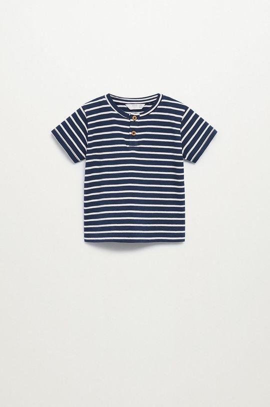 granatowy Mango Kids - T-shirt dziecięcy Pani8 80-104 cm Chłopięcy