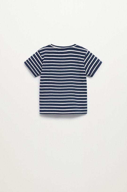 Mango Kids - T-shirt dziecięcy Pani8 80-104 cm granatowy