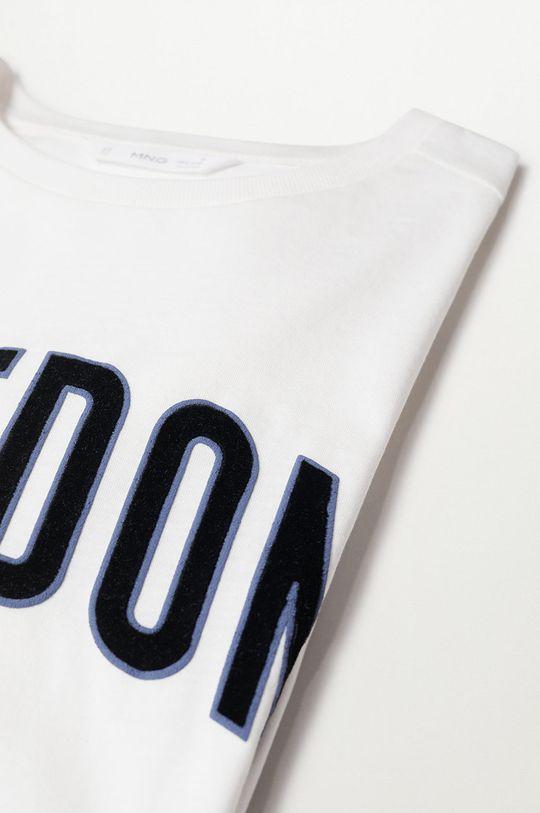 Mango Kids - T-shirt dziecięcy FREEDOMT 100 % Bawełna