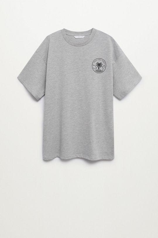 szary Mango Kids - T-shirt dziecięcy HEATT Chłopięcy