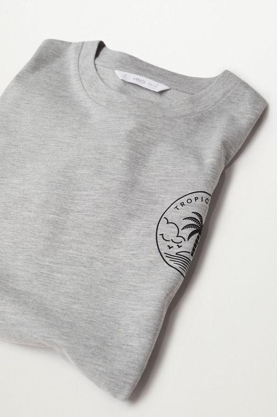 Mango Kids - T-shirt dziecięcy HEATT 50 % Bawełna, 50 % Poliester