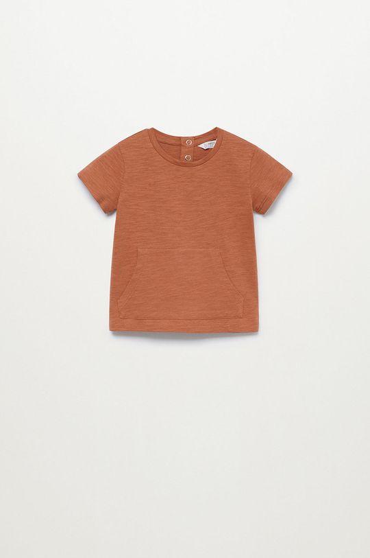 pomarańczowy Mango Kids - T-shirt dziecięcy KANGOO Chłopięcy