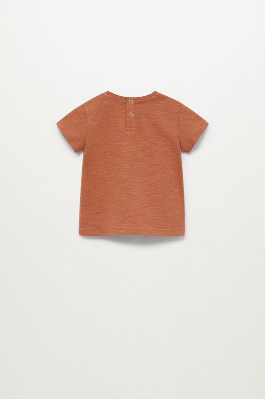 Mango Kids - T-shirt dziecięcy KANGOO pomarańczowy