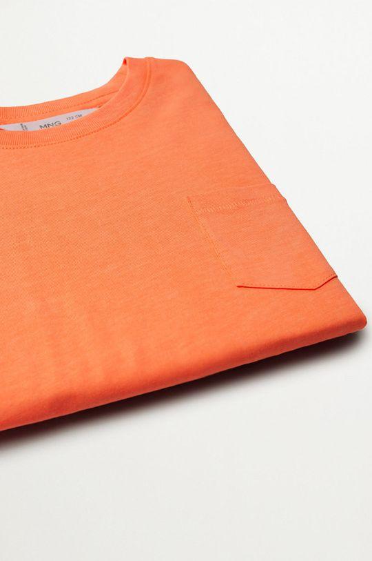 Mango Kids - T-shirt dziecięcy Brad 110-164 cm 100 % Bawełna organiczna