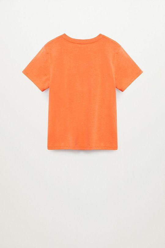 pomarańczowy Mango Kids - T-shirt dziecięcy Brad 110-164 cm
