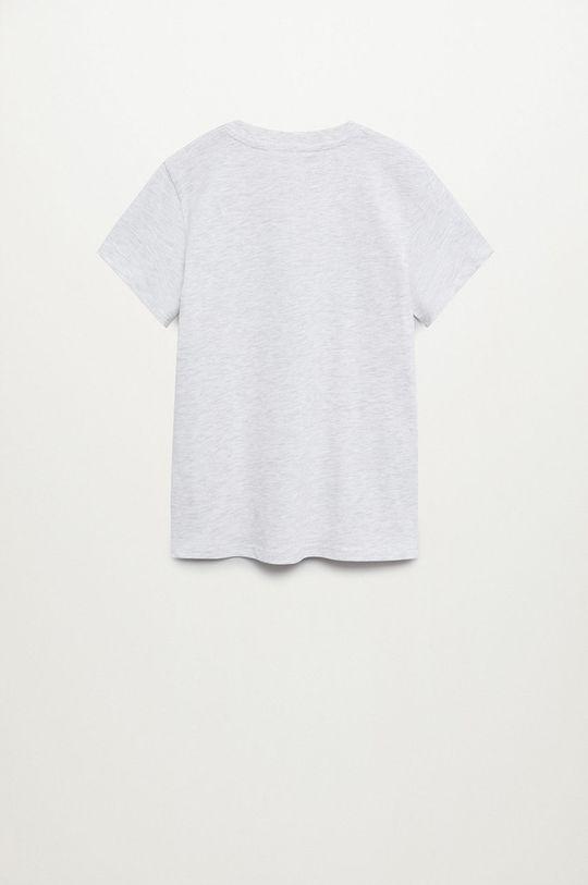 Mango Kids - Detské tričko Young 110-164 cm  99% Organická bavlna, 1% Viskóza