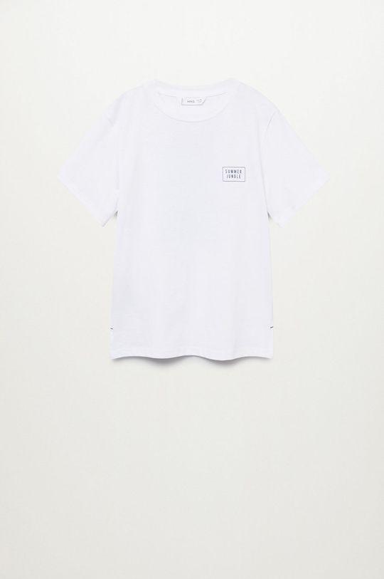 biały Mango Kids - T-shirt dziecięcy Summer 110-164 cm