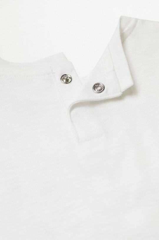 biały Mango Kids - T-shirt dziecięcy Hipo 80-104 cm