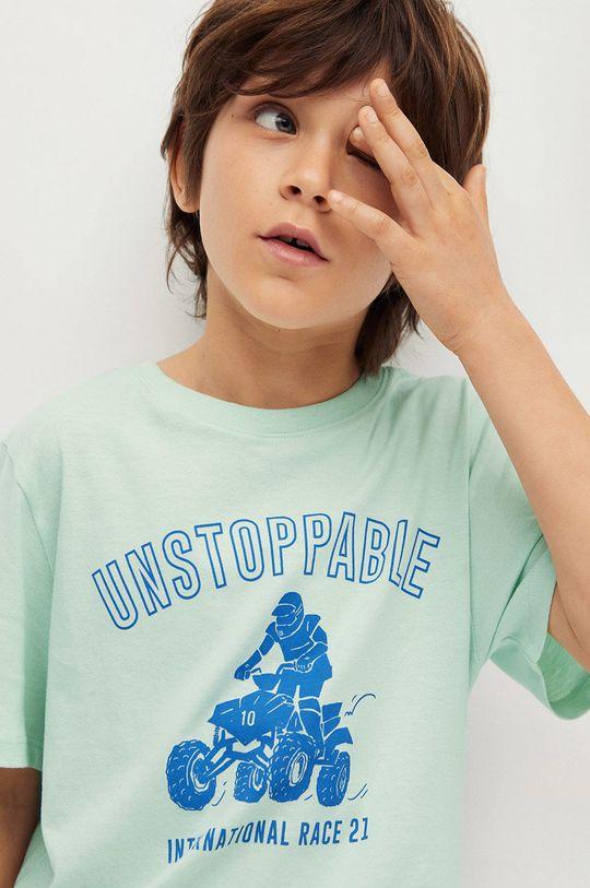Mango Kids - Detské tričko Easy 110-164 cm  100% Bavlna