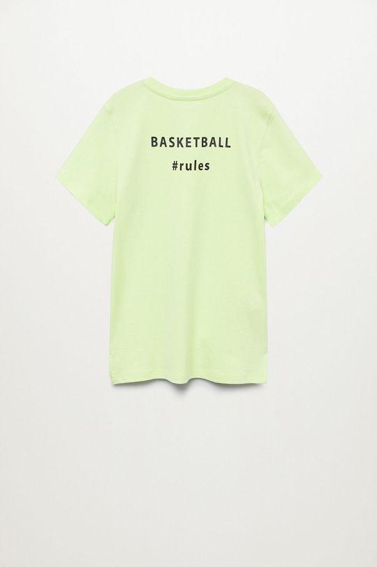 Mango Kids - Detské tričko Sport 110-164 cm  100% Organická bavlna