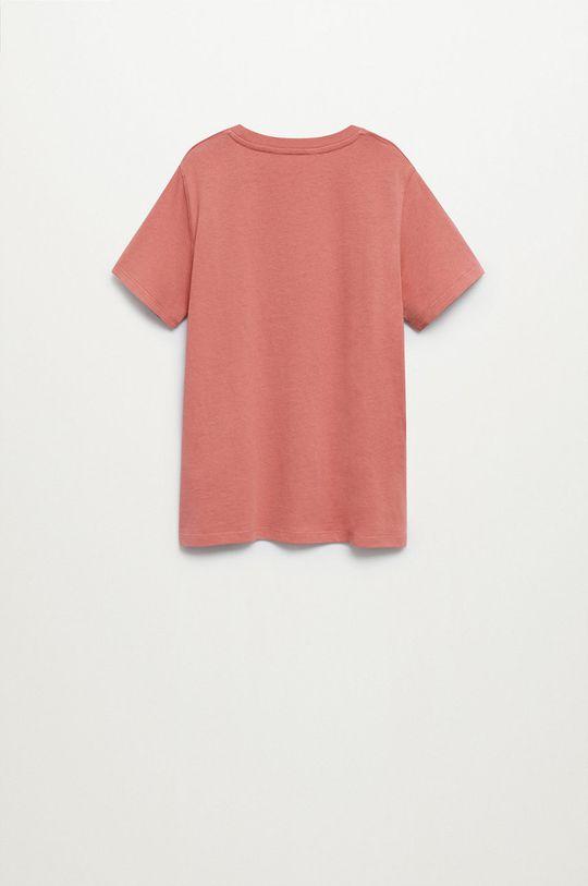 Mango Kids - Detské tričko Logo 110-164 cm  100% Organická bavlna