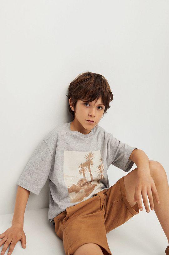 Mango Kids - Detské tričko Sunset 116-164 cm  98% Organická bavlna, 2% Viskóza