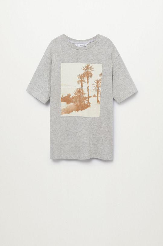 Mango Kids - Detské tričko Sunset 116-164 cm Chlapčenský