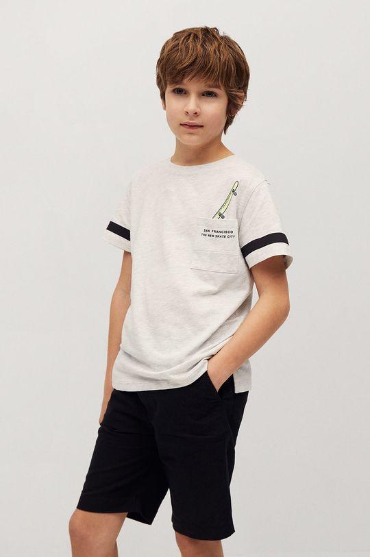 Mango Kids - Detské tričko Sport 110-164 cm  99% Organická bavlna, 1% Viskóza