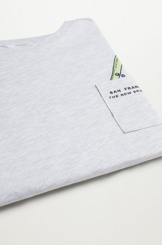sivá Mango Kids - Detské tričko Sport 110-164 cm