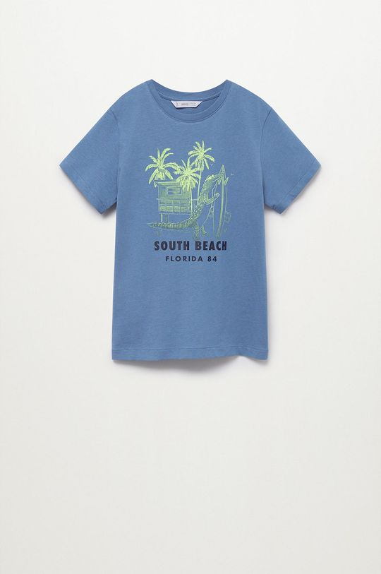 modrá Mango Kids - Detské tričko Florida 110-164 cm Chlapčenský